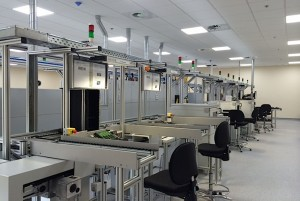 Phase One of Works Completed at Schrader Electronics