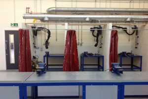 Works Completed at Bolton College Motor Vehicle Centre