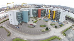 Works Progressing Well at NI Science Park Concourse III