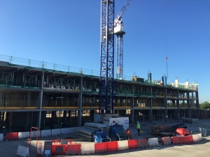 Construction Begins at Hampton by Hilton Hotel, Stansted