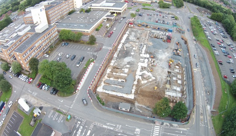 Craigavon Paediatric Unit Mechanical Works Commencing in September