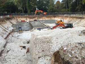 Initial Works Started at Freemen's School Swimming Pool