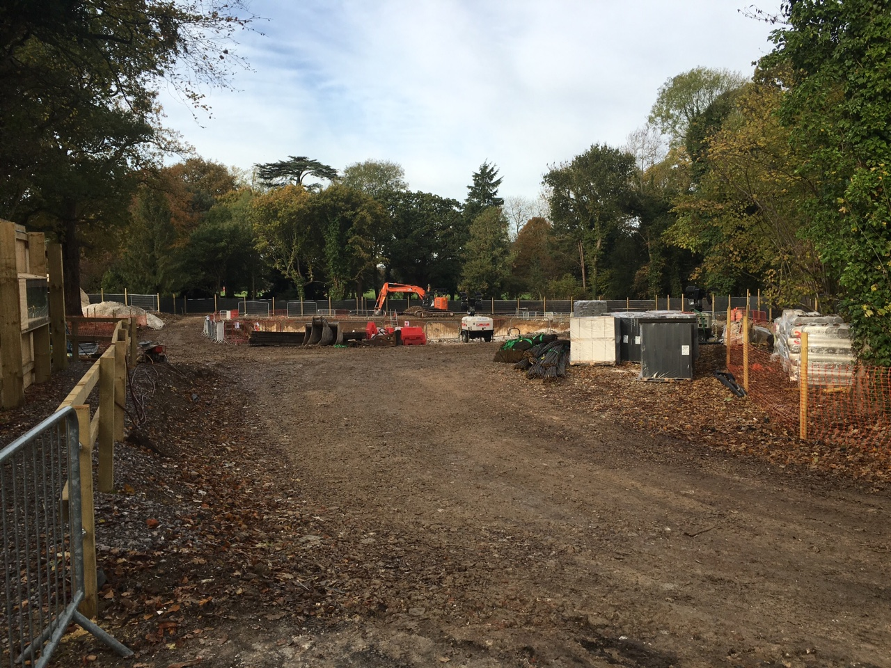Initial Works Started At Freemen 39 S School Swimming Pool Michael Nugent Ltd