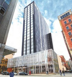 Michael Nugent Ltd Receives £30m Grand Central Hotel Belfast Contract