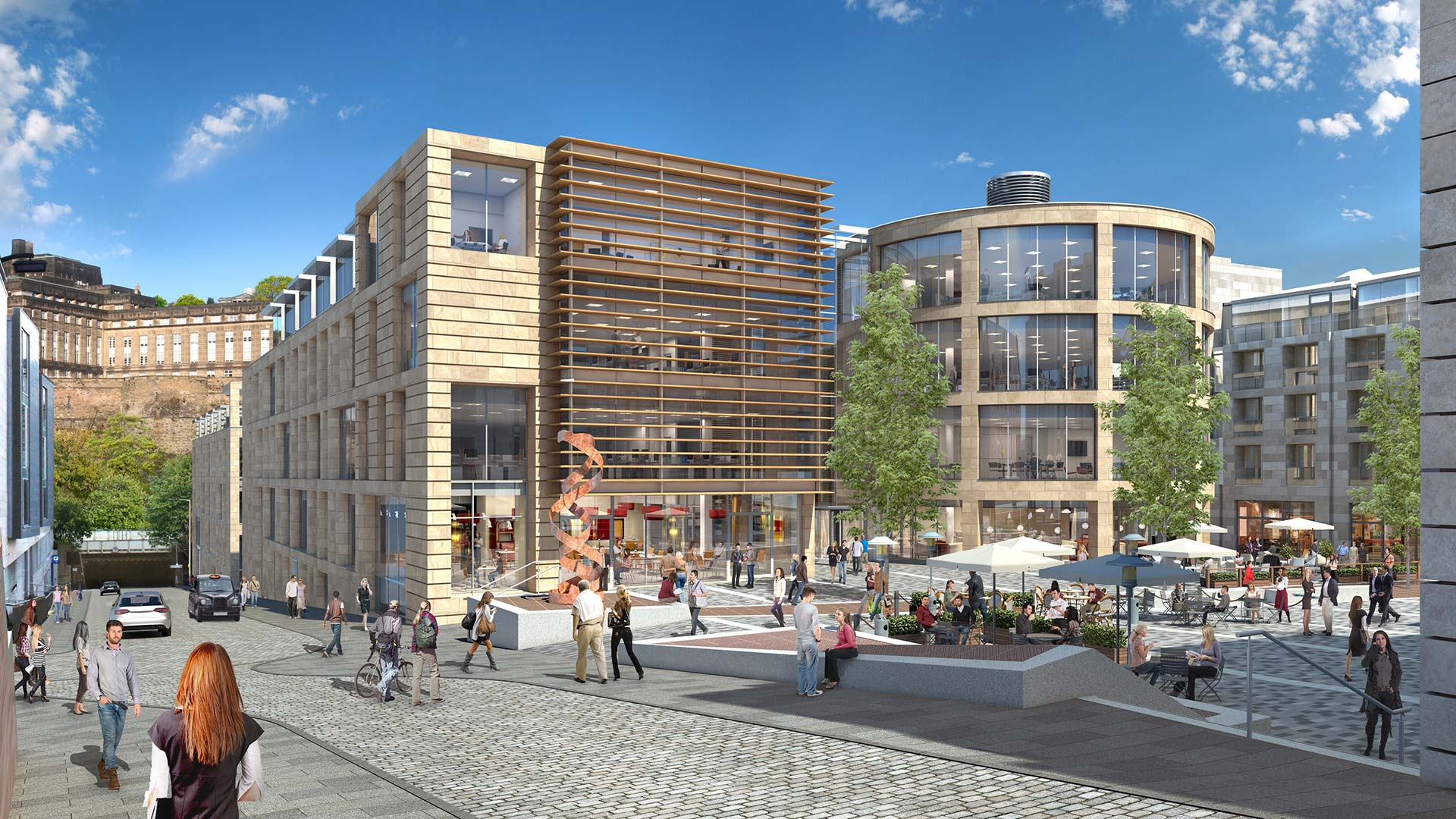 MNL Wins Grade-A Office Contract for New Waverley, Edinburgh