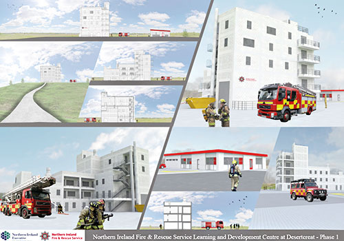 Michael Nugent Ltd Awarded Contract for New Northern Ireland Fire & Rescue Service Learning and Development Centre at Desertcreat