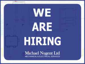 We are Hiring- Junior/Trainee Estimator – Mechanical & Electrical